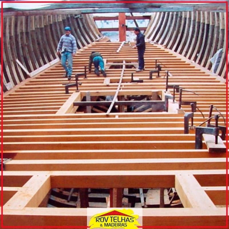 Madeiras para Construção Naval Guarulhos - Madeira Certificada para Construção Civil