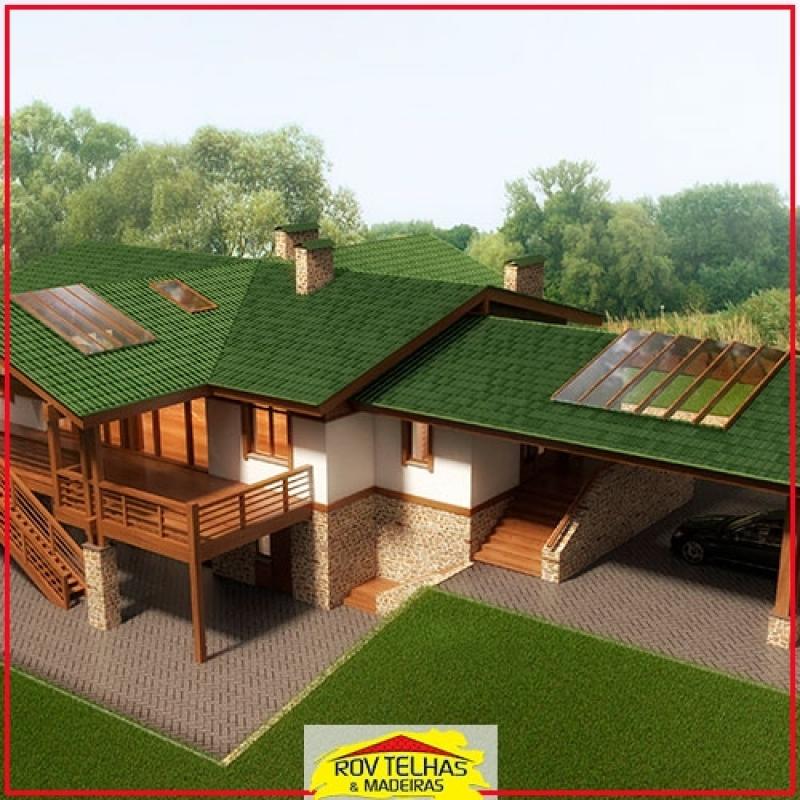 Onde Vende Telha Ecológica para Residência Atibaia - Telha Ecológica Termo Acústica