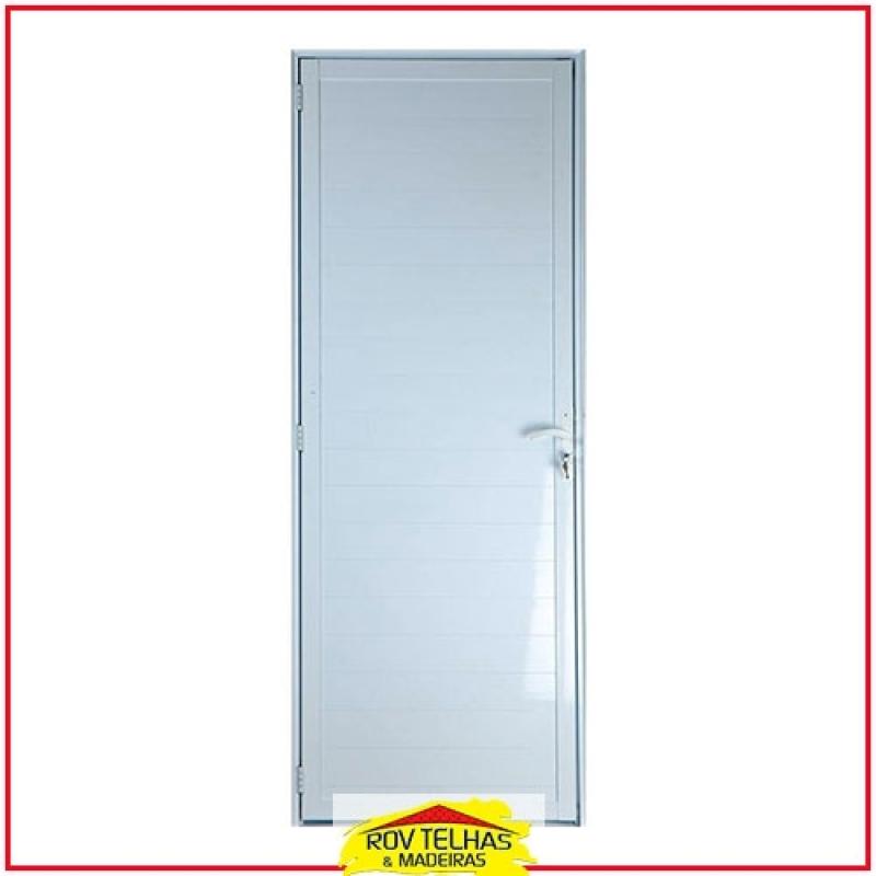 Qual é o Preço de Porta de Alumínio para Banheiro Jundiaí - Porta de Alumínio para Banheiro