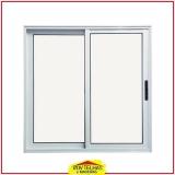 janela de alumínio branco valor Sorocaba