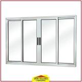 janela de alumínio com veneziana Campinas