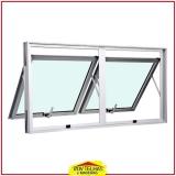janelas de alumínio basculante Campinas