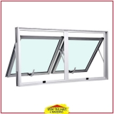 janelas de alumínio basculante Mairiporã