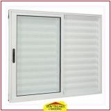 janelas de alumínio branco Mairiporã