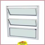 janela de alumínio com basculante