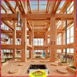 madeira para construção de casas Arujá