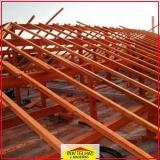 madeira para telhado colonial Santa Isabel