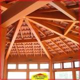 madeira para telhado romano Arujá