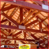 madeira para tesoura telhado orçar Jundiaí