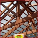 madeira para tesoura telhado Santa Isabel