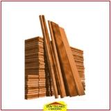 madeira rústica para construção