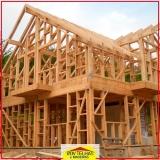 madeira serrada para construção civil