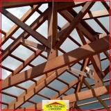 madeira para telhado aparente