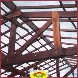 madeira para telhado de fibrocimento