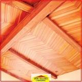 madeira para telhado romano