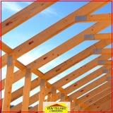 madeira para telhado rústico
