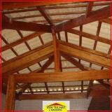 madeira para telhado simples