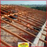 madeira para tesoura telhado