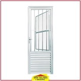 orçar porta de alumínio branco Guararema