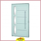 orçar porta de alumínio com vidro Suzano