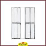 porta de alumínio com vidro Bragança Paulista