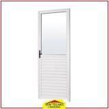 porta de alumínio para banheiro orçamento Campinas