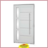 portas de alumínio branco São José dos Campos