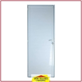 qual é o preço de porta de alumínio para banheiro Guararema