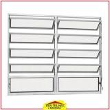 quanto custa janela de alumínio com basculante Atibaia
