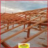 valor de madeira para telhado romano Mairiporã